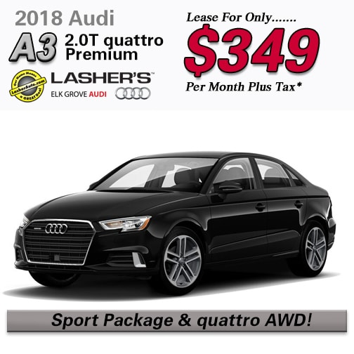 Sacramento Audi Dealer Offers And Leases In Elk Grove - Audi a3 lease