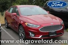 2019 Ford Fusion Hybrid Titanium Sedan
