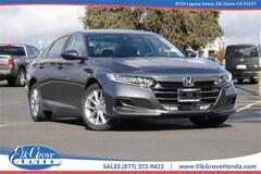 New 2021 Honda Accord LX 1.5T Sedan for sale in Elk Grove, CA