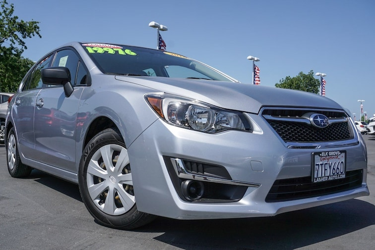 Certified Used 2016 Subaru Impreza Wagon 2.0i CVT 2.0i near Sacramento