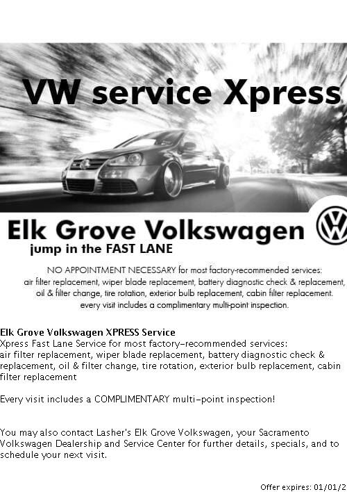 Elk Grove Volkswagen >> Vw Service Coupons In Sacramento Ca From Elk Grove Volkswagen