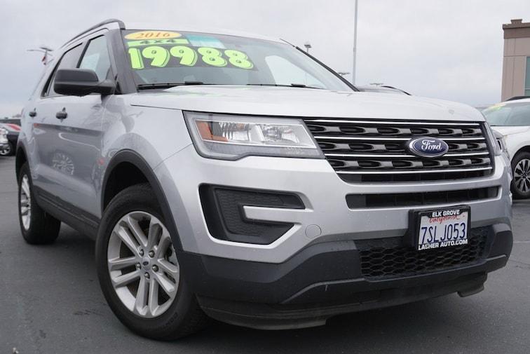 Used 2016 Ford Explorer Base SUV near Sacramento
