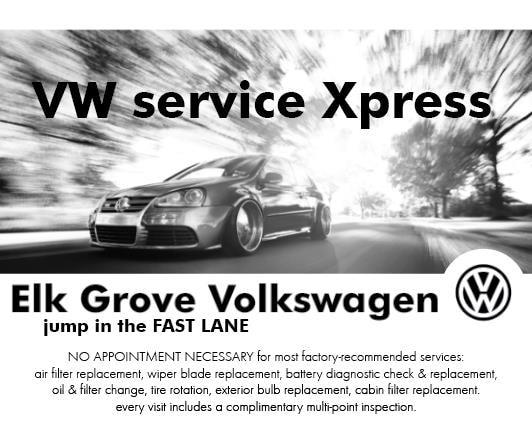 Elk Grove Vw >> Volkswagen Service Specials Elk Grove Volkswagen