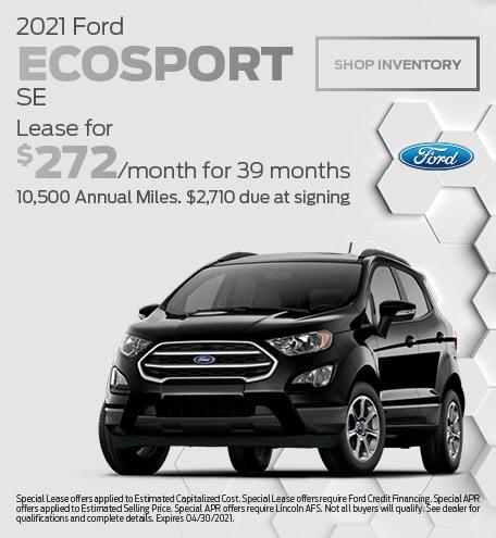 April 2021 Ford EcoSport