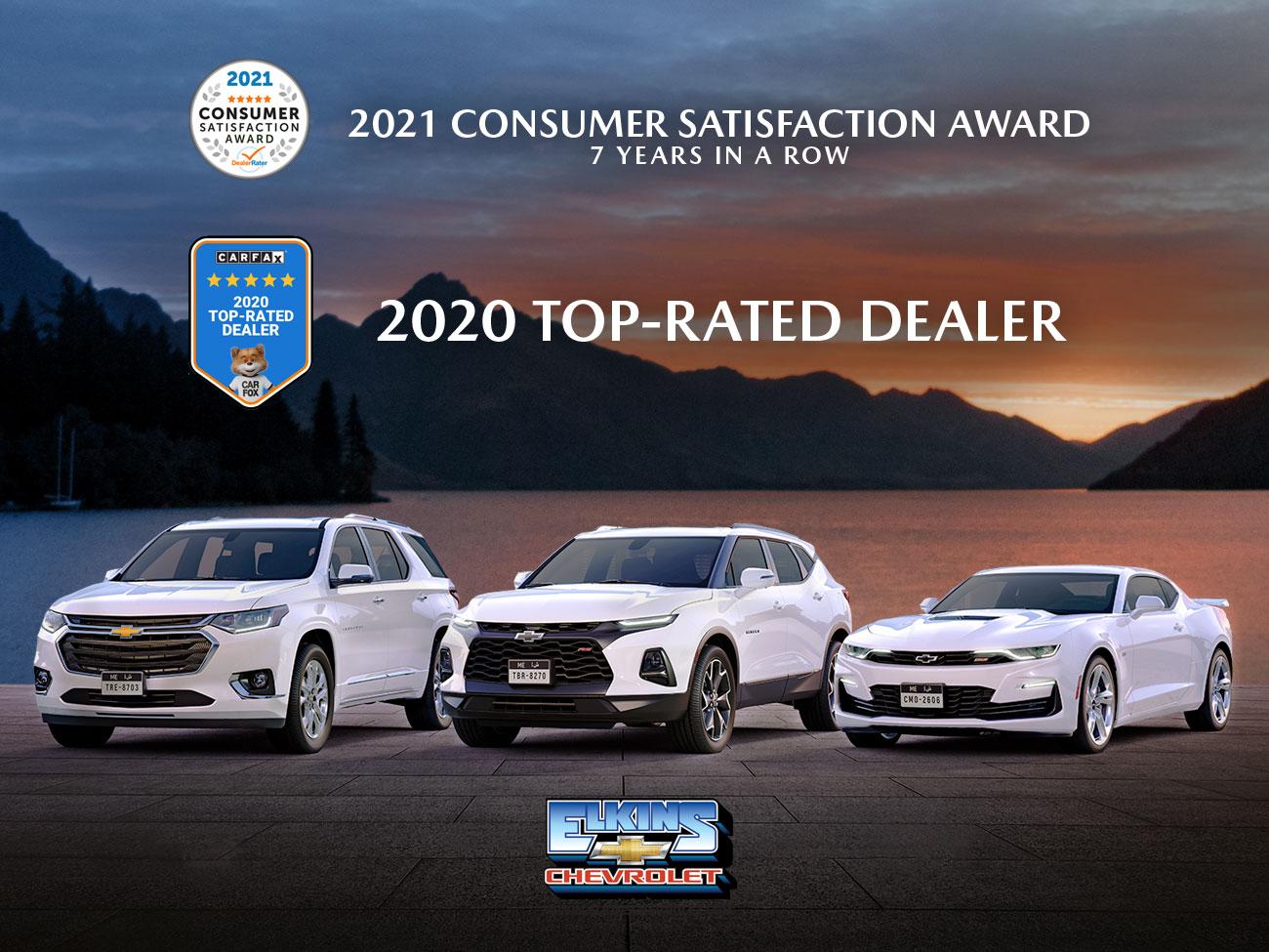 NJ Chevrolet Dealership Awards