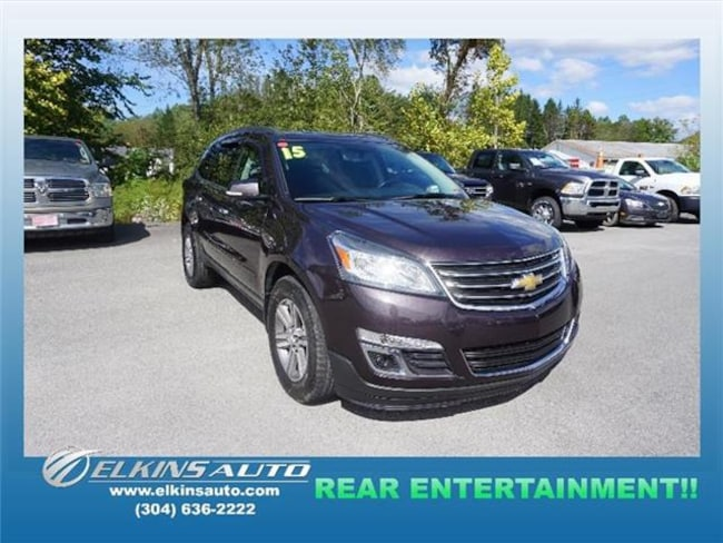 2015 Chevrolet Traverse LT w/1LT All-wheel Drive