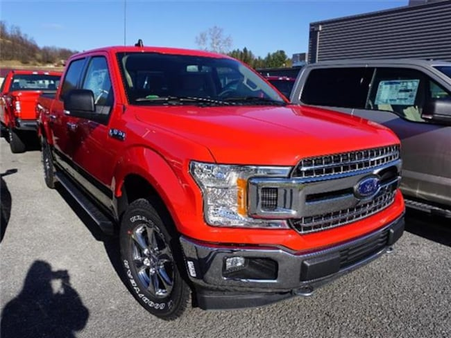 2019 Ford F-150 XLT 4x4 SuperCrew Cab Styleside 5.5 ft. box 145 in