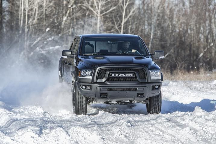 2017 Ram 1500 Rebel Black Capability