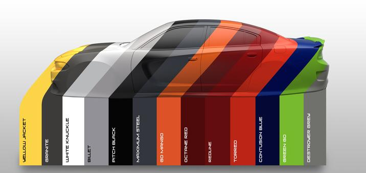 2017 Dodge Charger Exterior Paint Colors