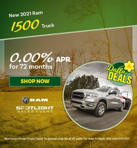 New 2021 Ram 1500 Truck