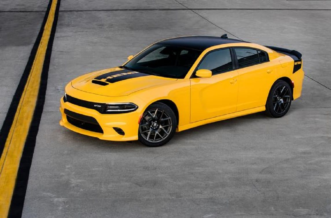 2019 Dodge Charger Yellow Exterior Front View Picture