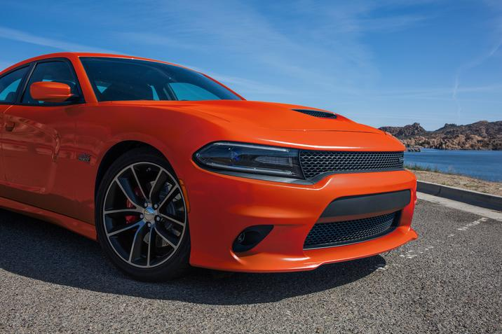 2017 Dodge Charger Orange Exterior