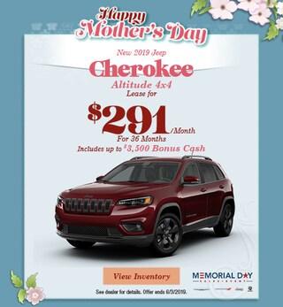 2019 Jeep Cherokee Altitude 4x4 - Lease