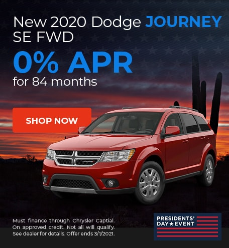 2020 Dodge Journey - February Offer