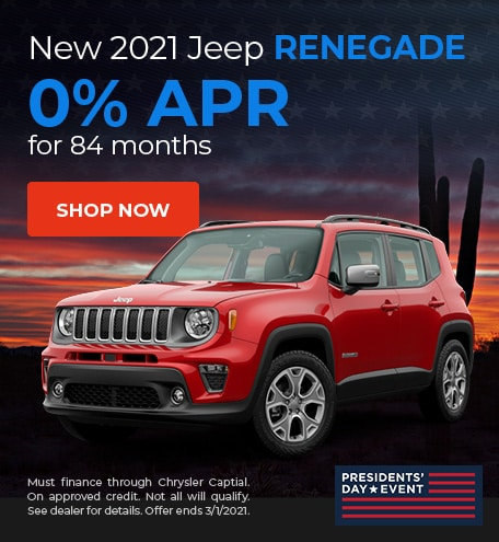 2021 Jeep Renegade - February Offer