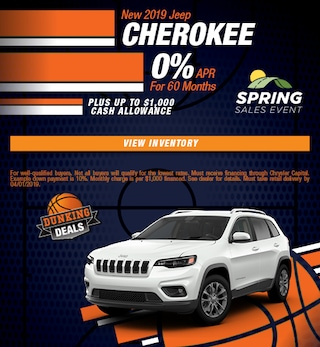 2019 Jeep Cherokee APR - March