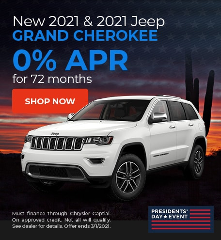 Jeep Grand Cherokee - February Offer