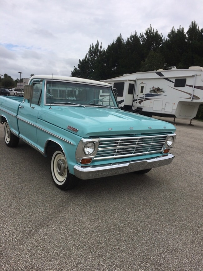 Used 1967 Ford F100 For Sale In Mt Pleasant Tx Vin