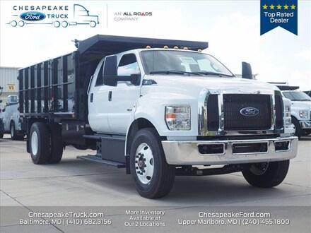 2021 Ford F-650 Diesel Base Truck Crew Cab