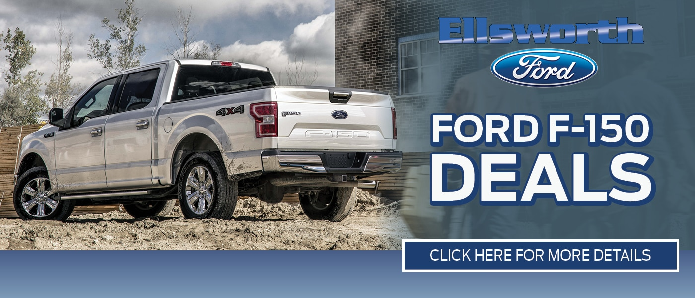 2020 Ford F-150 Deals banner