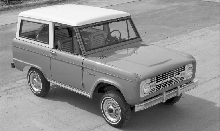 Ford Bronco 1st Generation Wagon