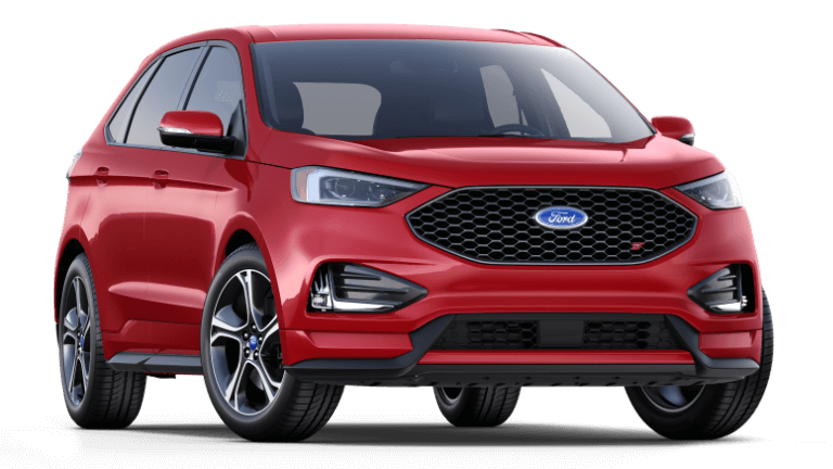 2019 Ford Edge ST in Red, Ellsworth, WI