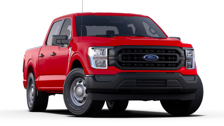 2021 Ford F-150 XL - Rapid Red