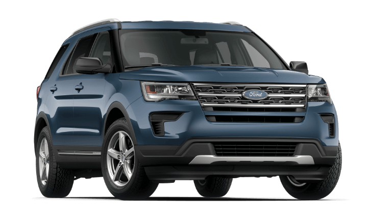 2020 Ford Explorer XLT - Blue