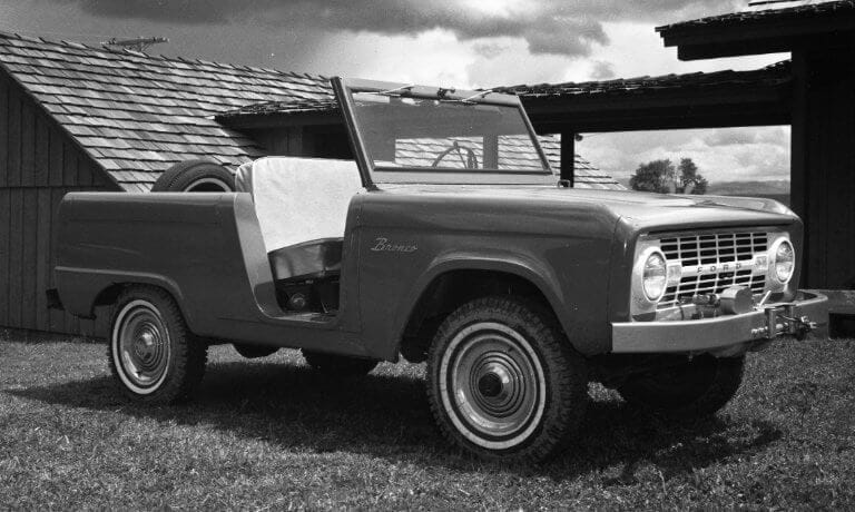 Ford Bronco 1st Generation Roadster
