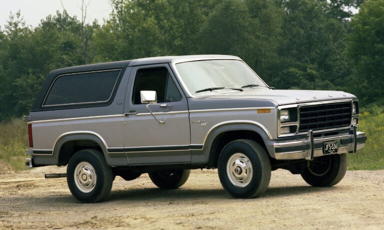 Ford Bronco 3rd Generation