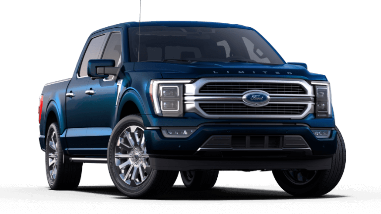 2021 Ford F-150 Limited - Antimatter Blue