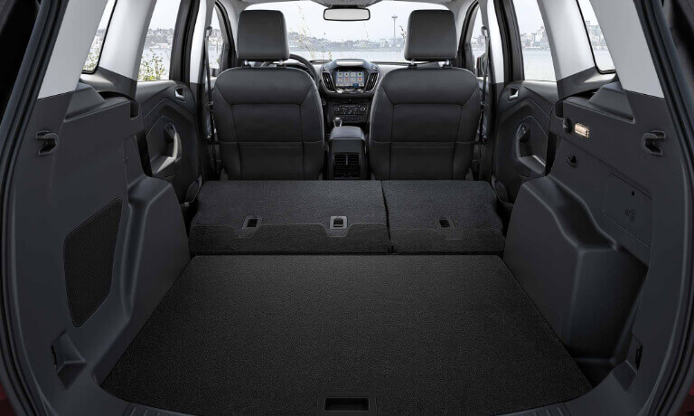 2019 Ford Escape interior cargo space view