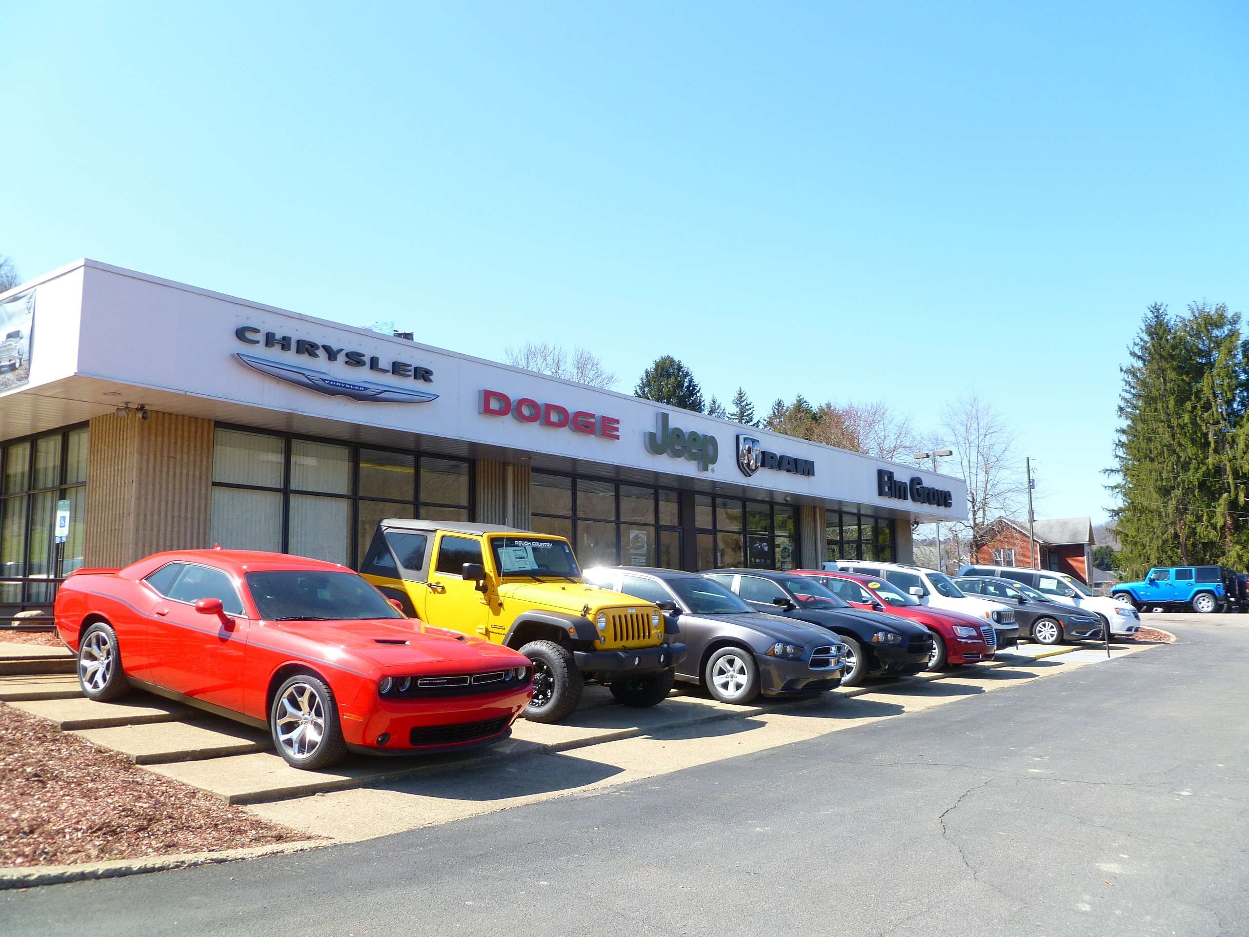 Elm Grove Dodge >> Elm Grove Dodge Chrysler Jeep Ram Used Cars For Sale in Wheeling | Pre-Owned Vehicles Serving ...