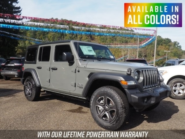 Jeep Wrangler Lease >> New 2018 Jeep Wrangler Unlimited Sport S 4x4 For Sale