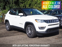 New 2018 Jeep Compass LATITUDE 4X4 Sport Utility for sale or lease in Wheeling, WV near St. Clairsville, OH