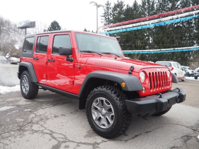 Used 2017 Jeep Wrangler Unlimited Rubicon SUV for sale in Wheeling, WV near St. Clairsville OH