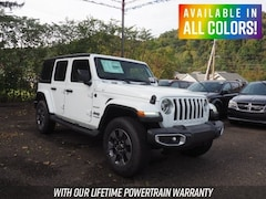 New 2018 Jeep Wrangler UNLIMITED SAHARA 4X4 Sport Utility for sale or lease in Wheeling, WV near St. Clairsville, OH
