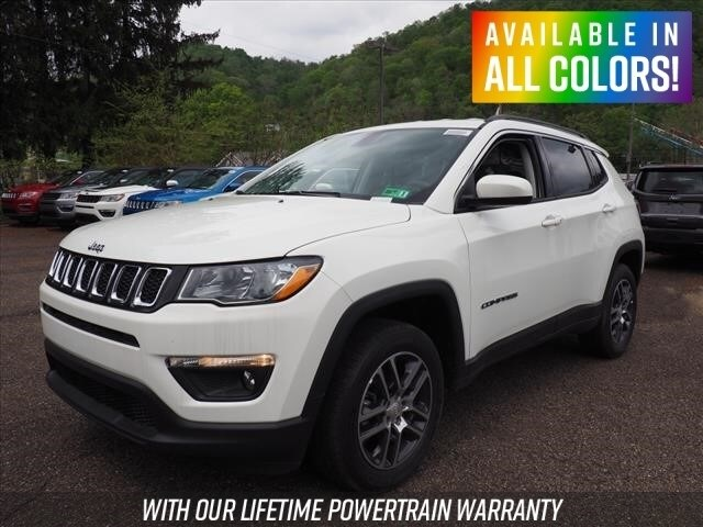 New 2019 Jeep Compass Latitude 4x4 For Sale Wheeling Wv