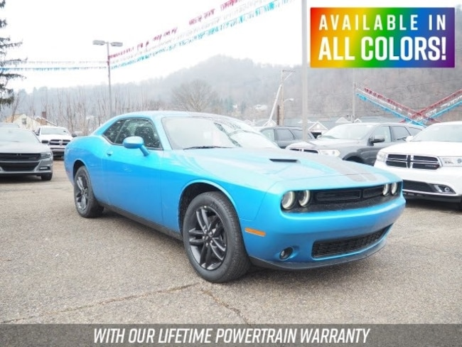 New 2019 Dodge Challenger SXT AWD Coupe for sale or lease in Wheeling, WV near St. Clairsville, OH