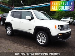 New 2018 Jeep Renegade LATITUDE 4X4 Sport Utility for sale or lease in Wheeling, WV near St. Clairsville, OH