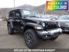 New 2019 Jeep Wrangler SPORT S 4X4 Sport Utility for sale or lease in Wheeling, WV near St. Clairsville, OH