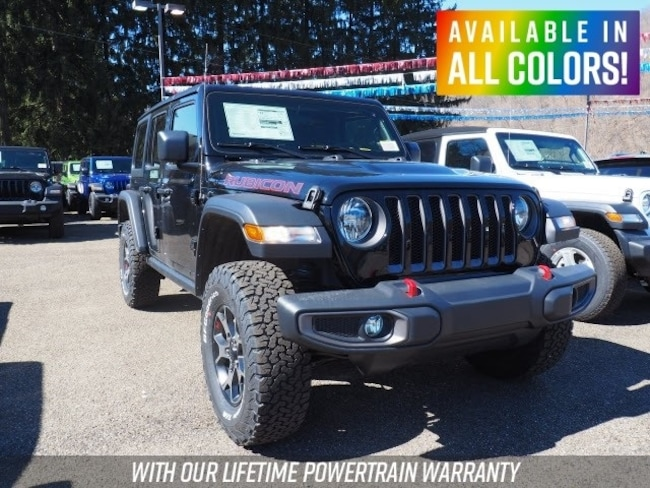 New 2019 Jeep Wrangler UNLIMITED RUBICON 4X4 Sport Utility for sale or lease in Wheeling, WV near St. Clairsville, OH