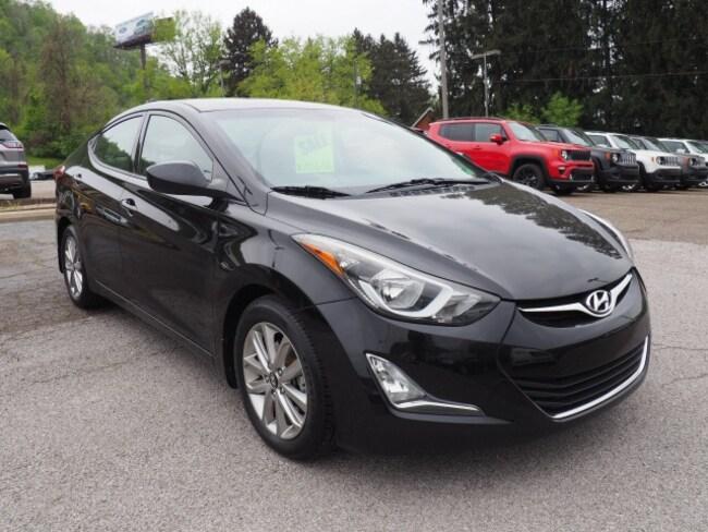 Used 2015 Hyundai Elantra SE Sedan for sale in Wheeling, WV near St. Clairsville OH