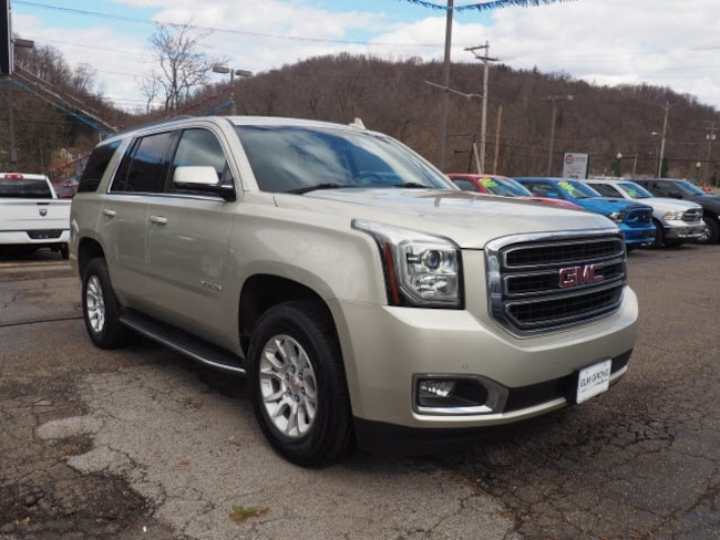 Used 2016 GMC Yukon SLT SUV for sale in Wheeling, WV near St. Clairsville OH