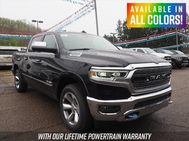 New 2019 Ram 1500 LIMITED CREW CAB 4X4 5'7 BOX Crew Cab for sale or lease in Wheeling, WV near St. Clairsville, OH