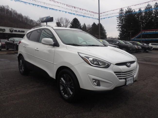 Used 2015 Hyundai Tucson SE SUV for sale in Wheeling, WV near St. Clairsville OH