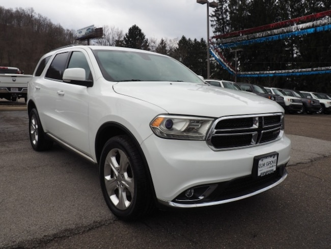 Used 2014 Dodge Durango Limited SUV for sale in Wheeling, WV near St. Clairsville OH