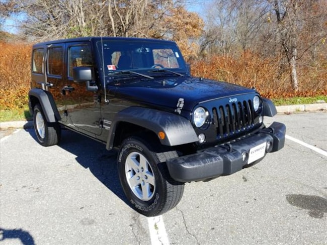 4793b95a000 Used 2016 Jeep Wrangler JK Unlimited Sport S For Sale | East ...