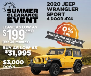 Jeep Offers Lease Finance Toledo Oh