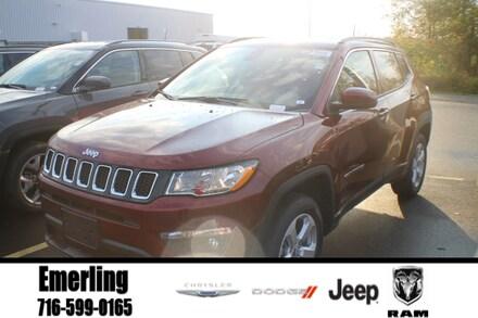 New 2021 Jeep Compass LATITUDE 4X4 Sport Utility in Springville, NY